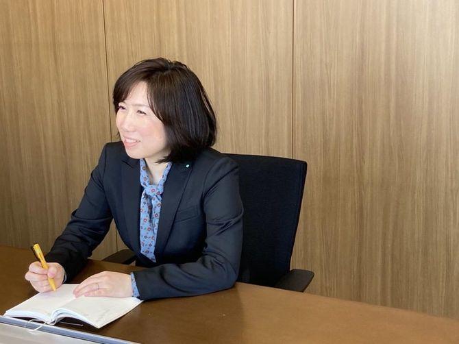 ビオフェルミン製薬 学術情報グループ 副主事 山下明子さん