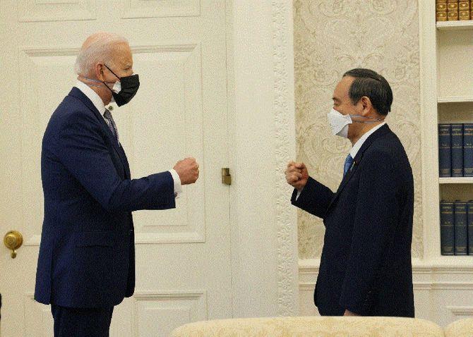 ワシントンで行われた日米首脳会談