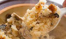 土鍋ご飯と焼き物、旨い!