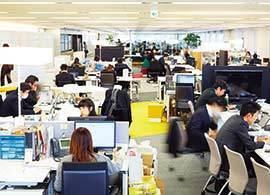 コクヨファニチャー 霞が関ライブオフィス -職場空間革命2014【2】