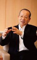 <strong>キリンビール社長 松沢幸一氏</strong>。自家発電の導入や、全国に散らばった工場の連携により、生産体制への影響が「限定的な影響」に収まったという。