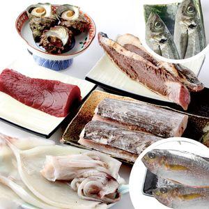 「おまかせ鮮魚BOX」の中身の一例