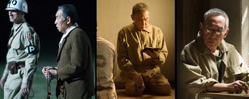 映画「明日への遺言」の脚本は、大岡昇平の「ながい旅」を原作に小泉尭史監督が書き下ろしたもの。その後「戦場のメリークリスマス」の助監督も務めたロジャー・パルバース氏とともに完成稿に仕上げ映画化された。大岡氏は原作によせてこう書いた。「戦後一般の虚脱状態の中で、判断力と気力に衰えを見せず、主張すべき点を堂々と主張したところに、私は日本人を認めたい。少なくとも、そういう日本人のほか私には興味がない」