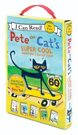 Eric Litwin、絵=James Dean『Pete the Cat I Love My White Shoes』(HarperCollins)