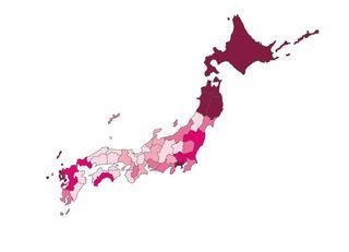 乳がん 都市と東日本で死亡率が高い理由