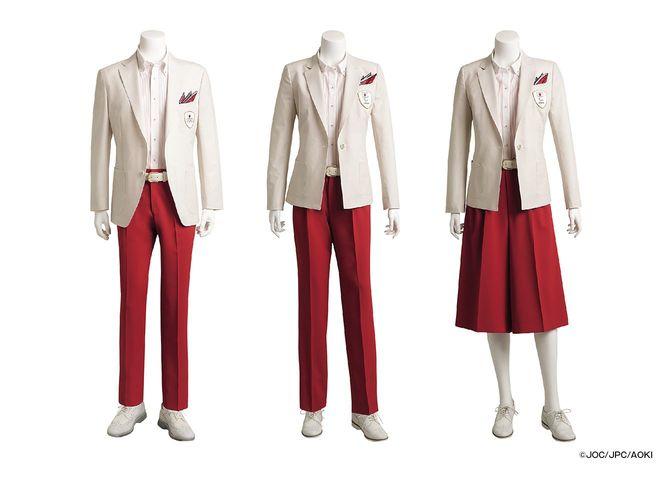 開会式の公式服装