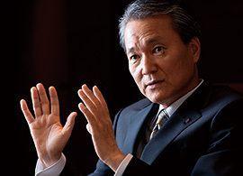 日本生命社長-古い殻を破る「訥言敏行」