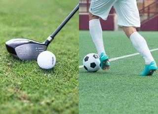 ゴルフとサッカー出世に近いのはどっち?
