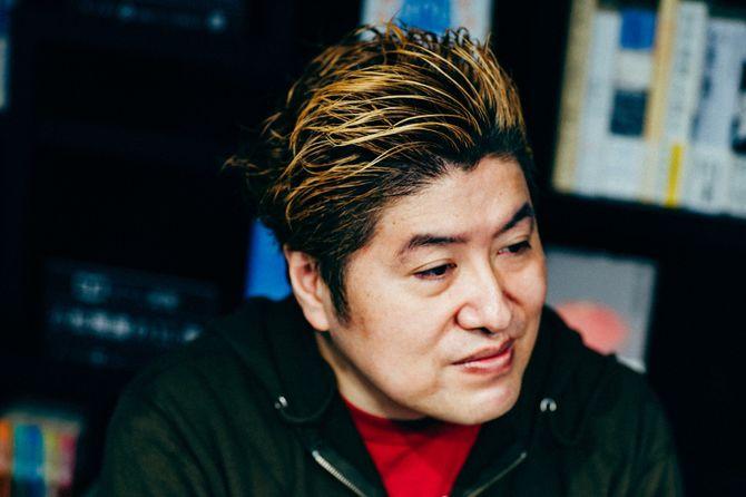 プロインタビュアーの吉田豪さん