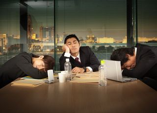 日本の会社員の