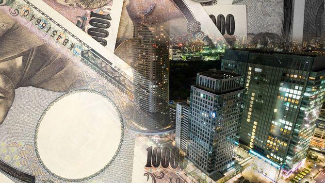 夜の東京とお金