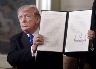 米国の宣言は