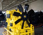 「カミンズ社へのエンジンの外販ビジネスが非常に伸びている」(上野充工場長)と語るように、コマツ製のエンジンの品質には高い自信をみせる。