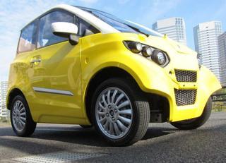 元トヨタマンが超小型4人乗りEVを開発
