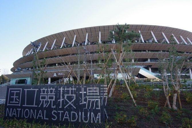 2020年1月2日、新国立競技場