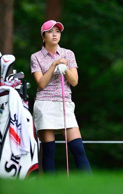 女子プロゴルフの堀琴音選手。