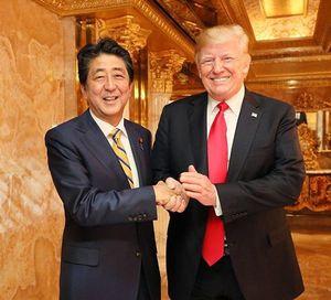 2018年9月24日にインスタグラムに投稿された安倍首相とトランプ大統領の写真。(写真=首相官邸Instagram)