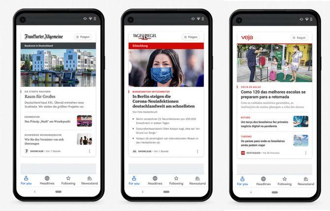 「Google News Showcase」