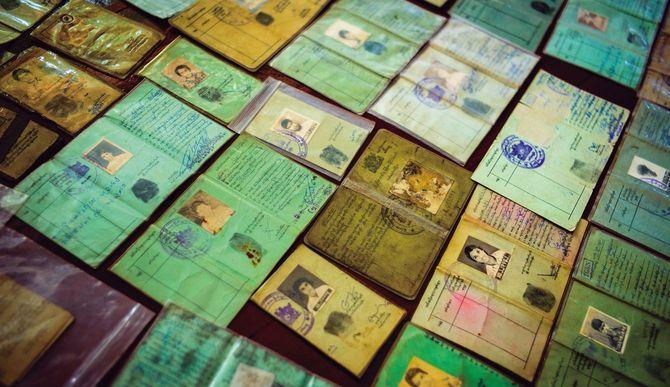 National Registaration Card(国民登録カード)