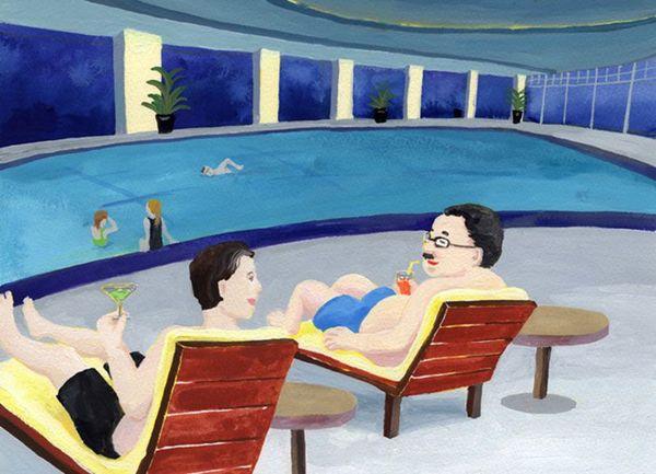 なぜホテルのプールで人脈ができるのか?