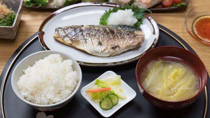 魚焼き定食
