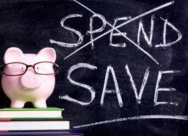 偏差値が上がる節約、下がる節約