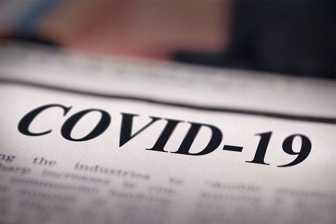 COVID-19書き込み新聞
