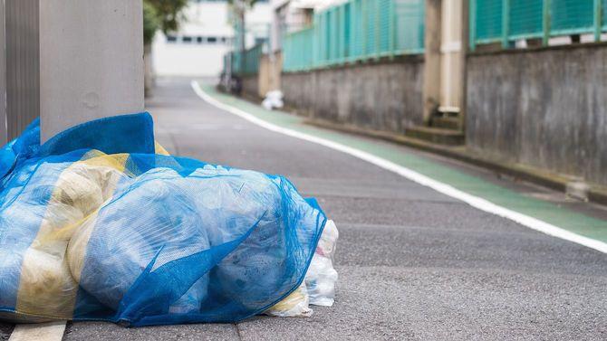管理の行き届いた日本のごみ集積所