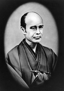 島津製作所初代、島津源蔵氏肖像