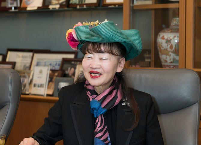 アパホテル・元谷芙美子社長