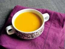 シナモンが香る「かぼちゃと生姜のポタージュ」のレシピ
