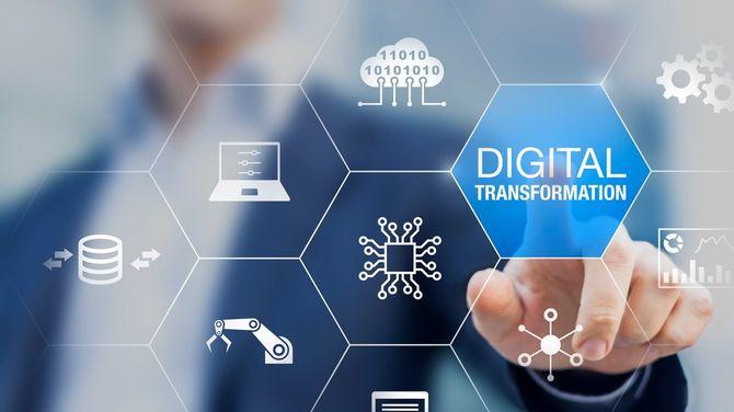 デジタルトランスフォーメーションの技術戦略イメージ