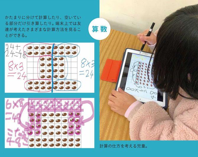 算数の授業風景