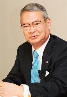 <strong>全日本空輸取締役会長 大橋洋治</strong>●1940年生まれ。64年慶應義塾大学法学部卒業、全日本空輸入社。93年取締役、97年常務、99年副社長、2001年社長、05年会長。07年経済同友会副代表幹事。08年より日本経済団体連合会副会長を務める。(PANA=写真)