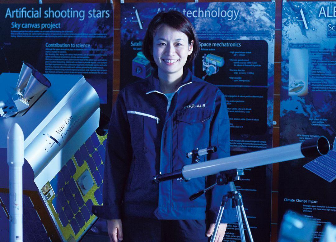流れ星を人工で作る方法が企業秘密のワケ ゴマ粒程度の大きさで明るく光る