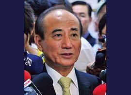 立法院長 王 金平 -台中関係のカギ握る、「台湾の徳川家康」