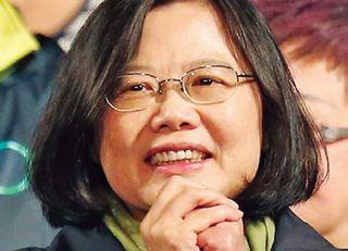 蔡英文が台湾初の女性総統に就任へ
