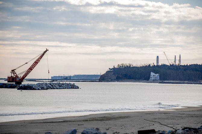 震災から5年の福島第一原子力発電所