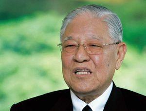 台湾の李登輝元総統。