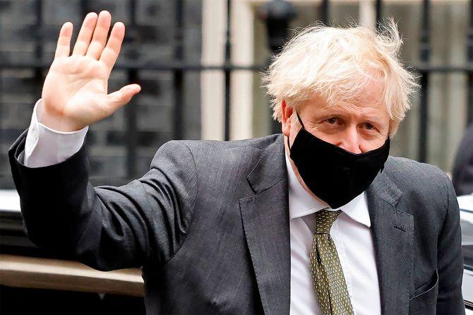 英国のボリス・ジョンソン首相