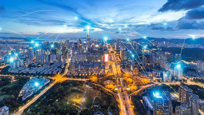 急速に発展する深圳