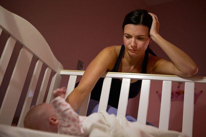 母親と赤ちゃんの悩み産後意気消沈