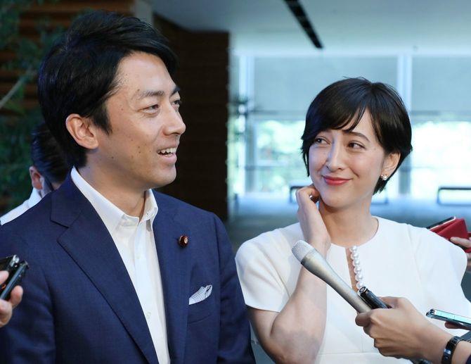滝川クリステルさんと、小泉進次郎衆院議員