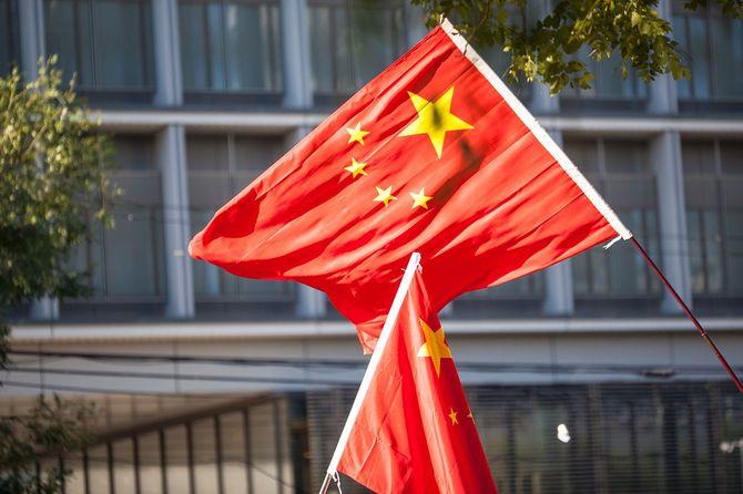 北京の抗議
