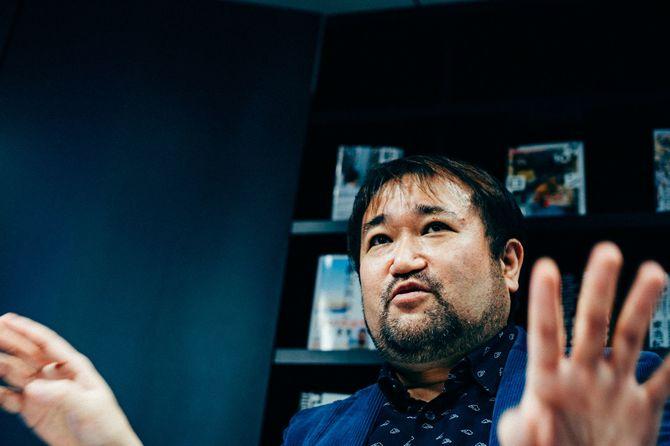 批評家で哲学者の東浩紀さん
