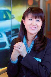 <strong>アウディ青森 営業 フロアマネージャー 古谷由香子</strong>●1981年、青森県生まれ。米沢女子短期大学を卒業後、アウディ青森を経営するツカハラエンタープライズに入社。