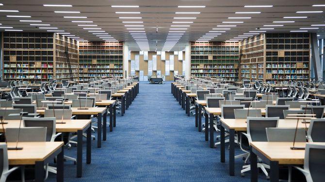 ソウル大学の図書館