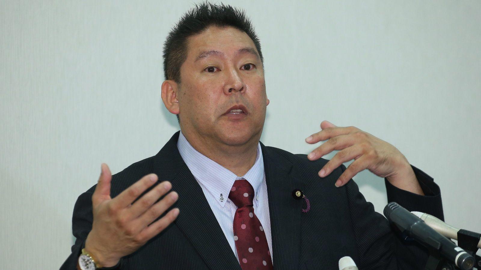 立花孝志に共感する人々が抱く社会への復讐心 NHKではなく、この社会をぶっ壊す