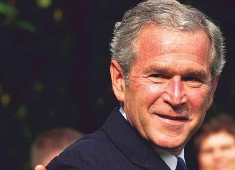 アメリカ前大統領 G・W・ブッシュ「その場で一番の弱者に声をかけよ」