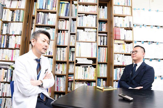 元NHKアナウンサー 塚本 堅一、精神科医 松本 俊彦